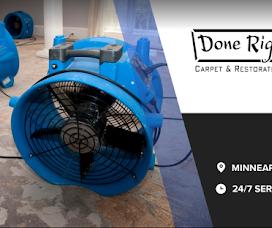 Done Right Carpet & Restoration Inc.